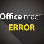 Office for Mac 2011の起動エラー→再インストールのためのアンインストール方法