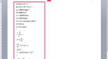 Word原稿に入っている複雑な数式をIllustratorやInDesignで使用出来るようにする方法