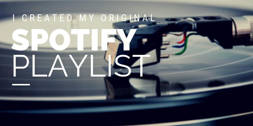 Spotifyでオリジナルの公開プレイリストを作ってみた