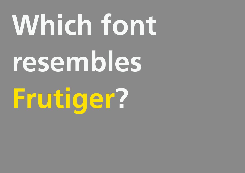 新人デザイナーさんに!入手しやすく高品質なFrutiger互換フォント