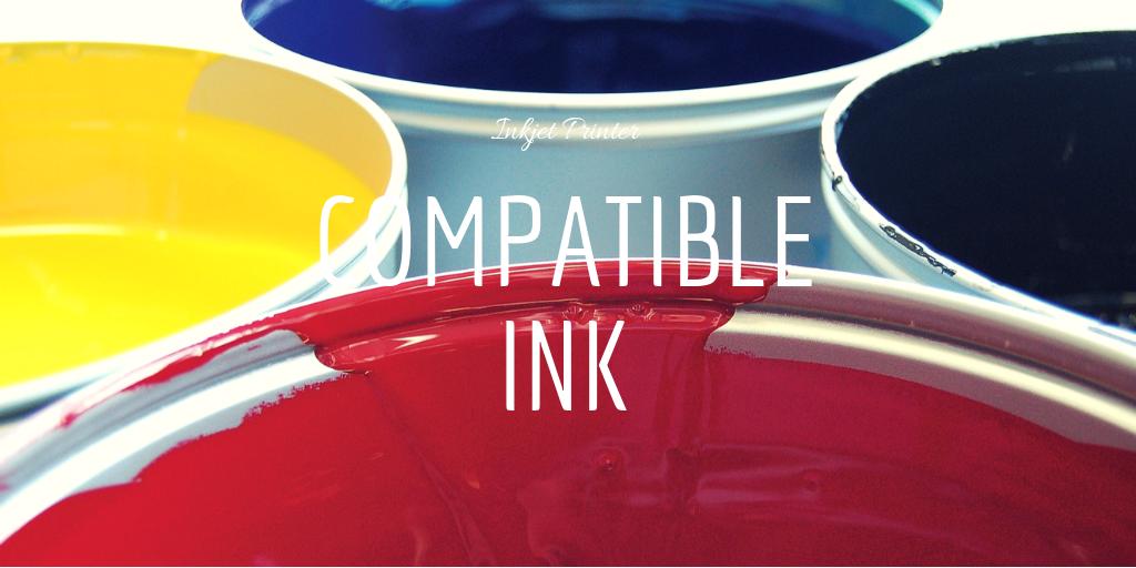 プリンターの互換インクを使う2つのメリットとデメリット