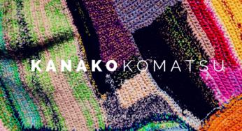 小松可奈子「KA-TE-I」展|人と人との繋がりを視覚化した編み物アート