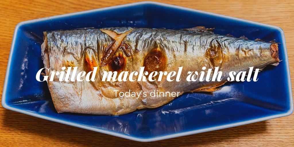 前菜、サバのグリル塩焼き、ストウブのラタトゥイユ 190705夕食