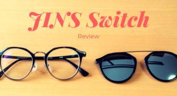 「JINS Switch」を購入しました!メガネ/サングラスをワンタッチで切り替えられる便利アイテム。使い心地をご紹介します