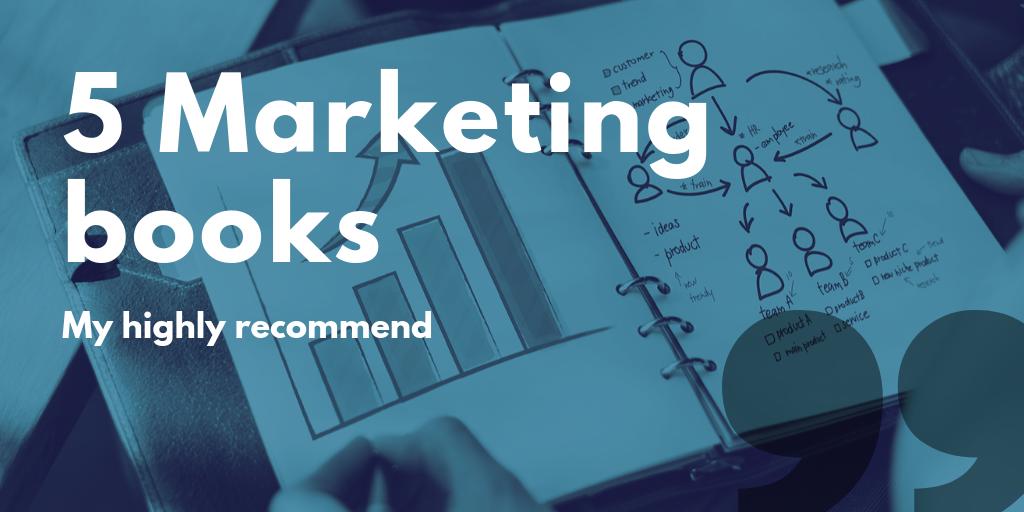 グラフィックデザイナーの私が実際に読み、特に勉強になった5冊のマーケティング入門書を紹介