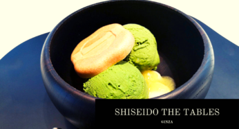 「SHISEIDO THE TABLES」銀座の静かな穴場カフェで、上質なティータイムを過ごす